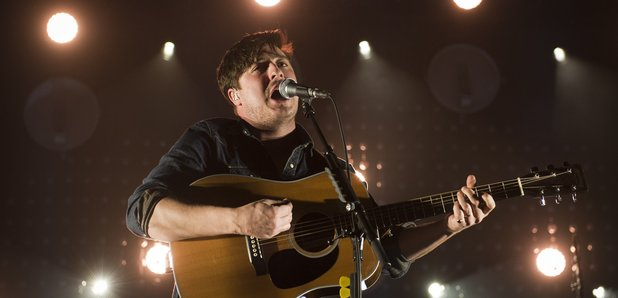 Mumford & Sons live on stage