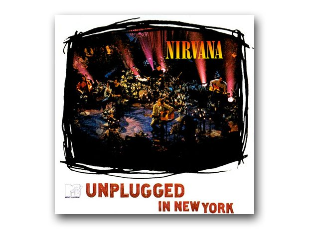 Nirvana - MTV Unplugged In New York album cover
