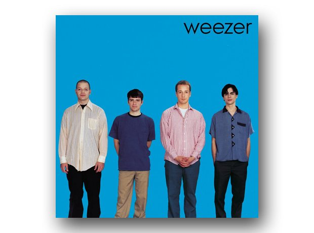 Weezer - Weezer (The Blue Album) album cover