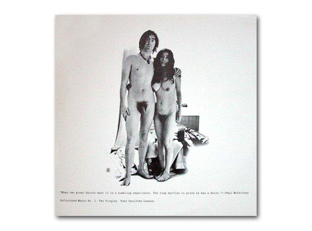 John Lennon And Yoko Ono - Two Virgins album cover