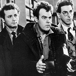 "Ghostbusters"" are Bill Murray, Dan Aykroyd, center"