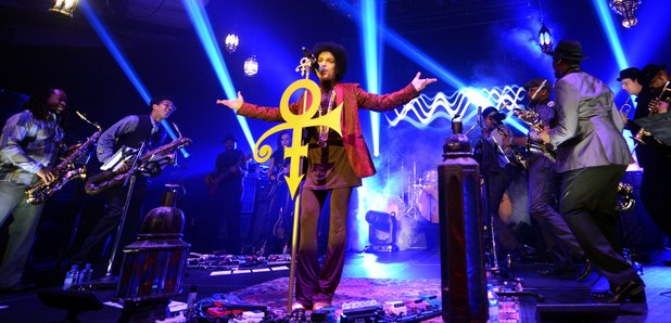 Prince Live on stage in LA