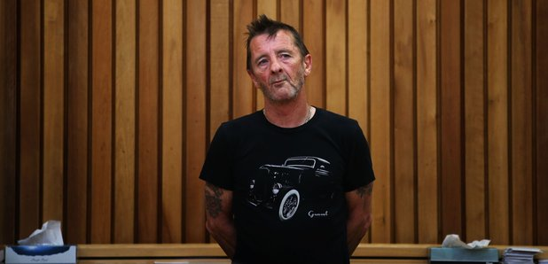 Phil Rudd appears in court