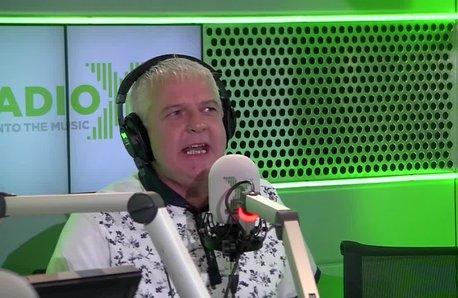 Rob DJ on The Chris Moyles Show