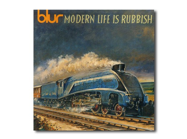 Blur Modern Life Is Rubbish Artwork