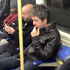 Noel Gallagher on the Tube