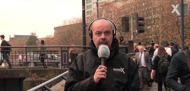 Radio X Dom in Bristol