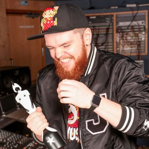 Jack Garratt with Brit Award