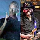 Josh Homme and Lemmy from Motorhead