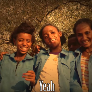 Ethiopian children sing Nirvana