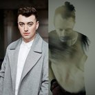 Sam Smith and Thom Yorke splitscreen