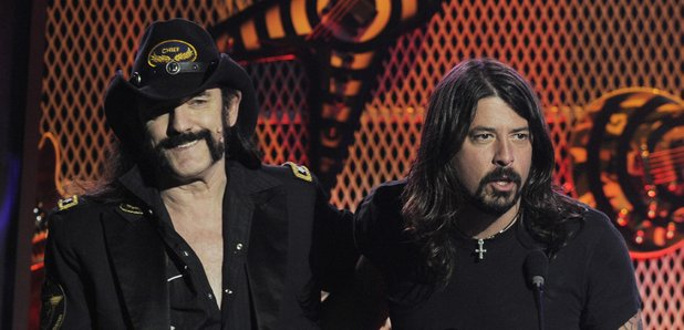 Lemmy with Dave Grohl 2010