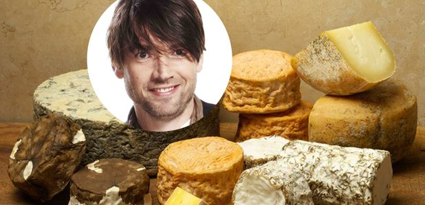 Alex James and his cheese