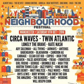 Neighbourhood Festival 2016 poster image