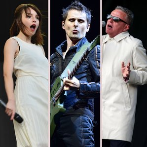 Chvrches, Muse, Madness split image