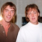 Paul Weller, Paul McCartney and Noel Gallagher at