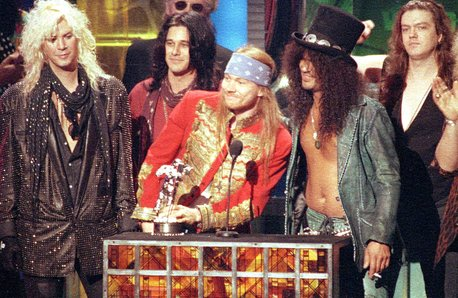 Guns N' Roses at the 1992 MTV Awards