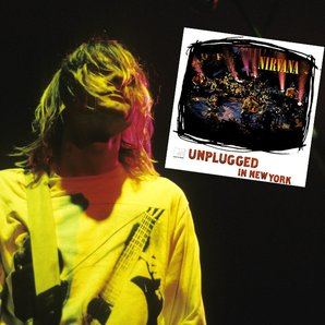 Nirvana and Unplugged sleeve