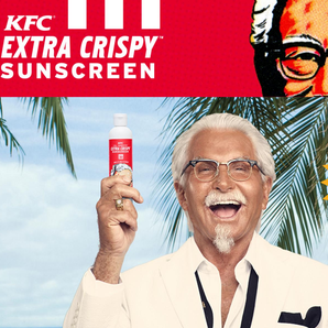 KFC Crispy Sunscreen Image website