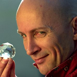 Crystal Maze press picture with Richard O'Brien