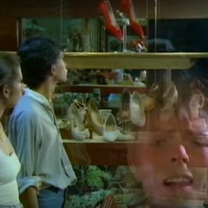 David Bowie Let's Dance video still