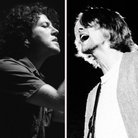 Pearl Jam's Eddie Vedder and Kurt Cobain