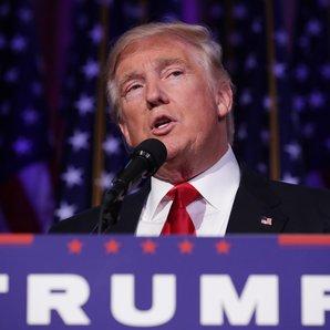 Donald Trump Accepts Presidency November 2016