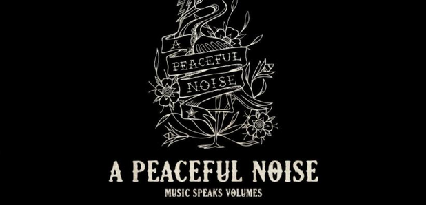 A Peaceful Noise Poster Nick Alexander gig