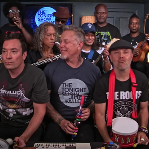 Metallica on the Tonight with Jimmy Fallon show