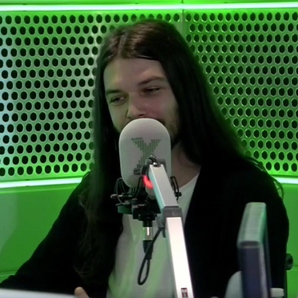 Biffy Clyro Simon Neil at Radio X on Gordon Smart