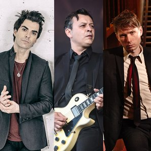 Kelly Jones James Dean Bradfield and Alex Kapranos