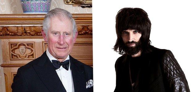 Prince Of Wales and Serge Kasabian
