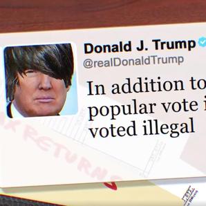 Trump tweets turned into emo songs