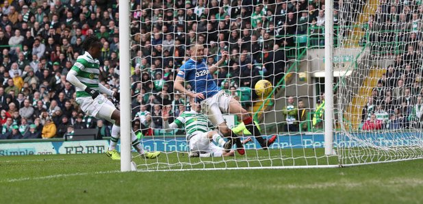 Rangers Clint Hill Goal Rangers vs Celtic