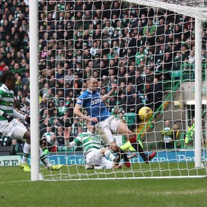 Rangers Clint Hill Goal Rangers vs Celtic