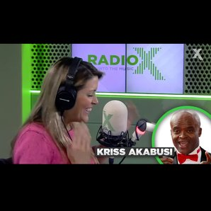 Pippa gets advice from Kriss Akabusi
