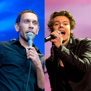 Shed Seven Rick Witter and Harry Styles