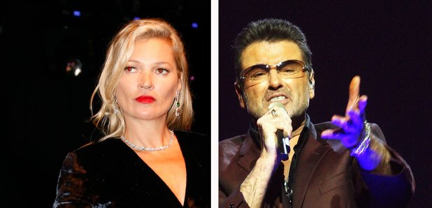 Kate Moss and George Michael