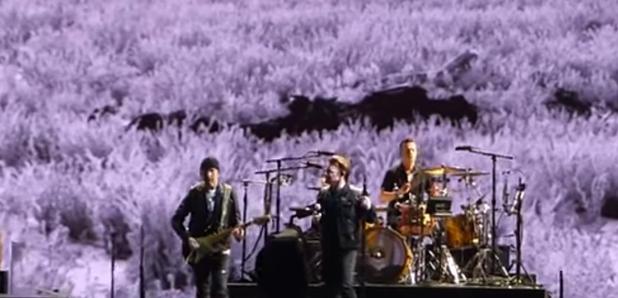 U2 The Joshua Tree tour in Seattle video still
