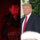 Thom Yorke and Donald Trump