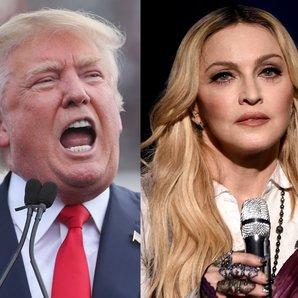 Donald Trump V Madonna