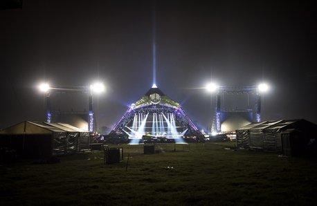 Glastonbury Pyramid Stage