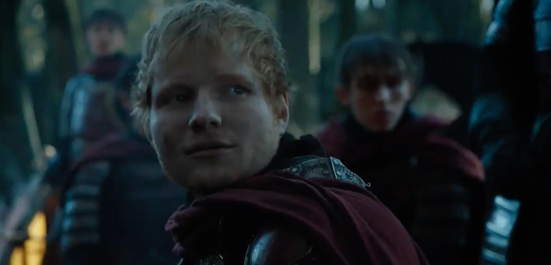 Ed Sheeran in Game Or Thrones Cameo