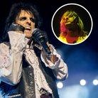 Alice Cooper and Kurt Cobain inset