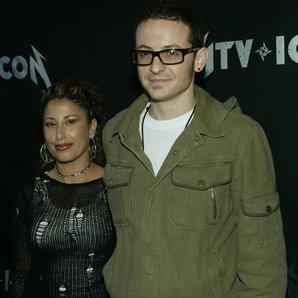 Chester Bennington and ex-wife Samantha Bennington