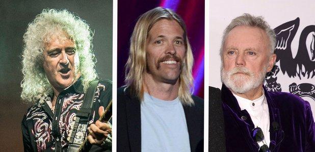 Brian May, Taylor Hawkins and Roger Taylor