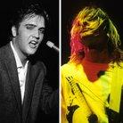 Elvis and Nirvana's Kurt Cobain