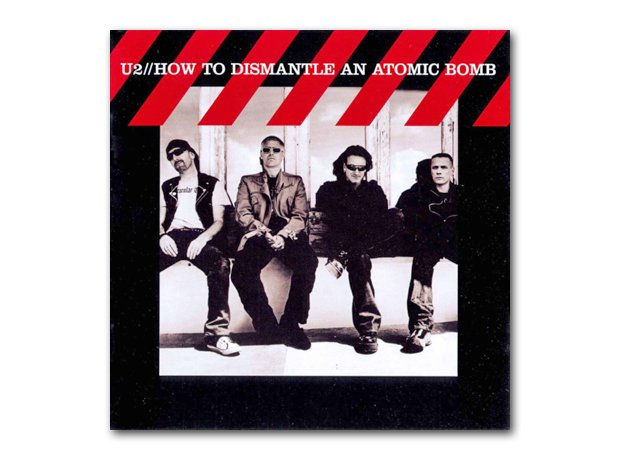 U2 - How To Dismantle An Atomic Bomb album cover