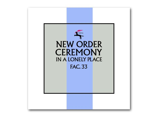 New Order - In A Lonely Place album cover